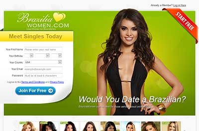 Brazilian Dating Site for Singles - Meet a Brazilian